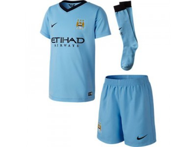 Manchester City Home Minikit 2014/15 - Little Boys