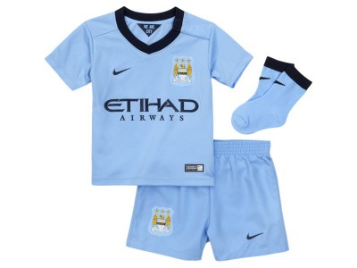 Manchester City Home Kit 2014/15 - Infants