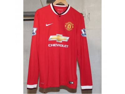 Manchester United home jersey L/S 2014/15 - ABG 07