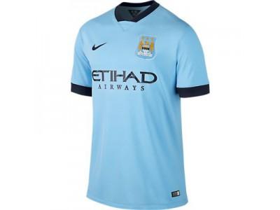 Manchester City Home Jersey 2014/15 - Men's