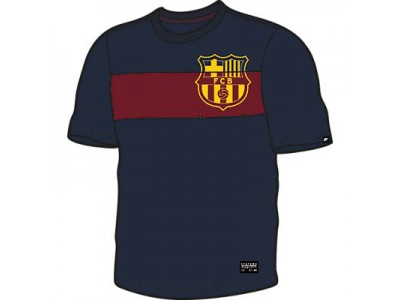FC Barcelona Covert Pocket Top 2014/15 - Men's, Navy
