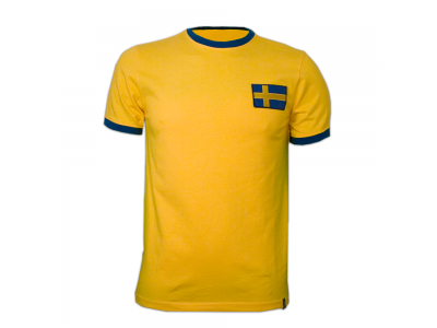 Sweden 1970's Short Sleeve Retro Shirt