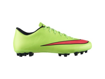 Mercurial Victory AG Cleats - Ronaldo, Green