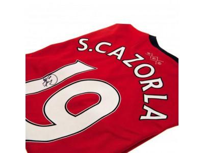 Arsenal FC Cazorla Signed Shirt
