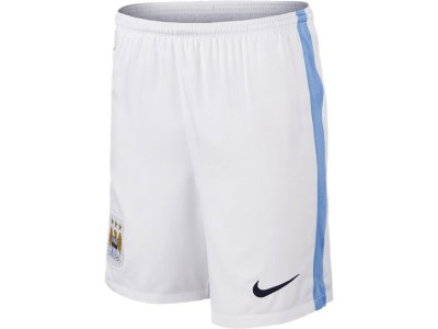 Manchester City Home Shorts 2015/16 - Youth