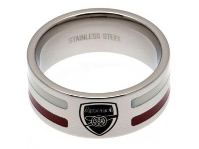 Arsenal FC Colour Stripe Ring Small