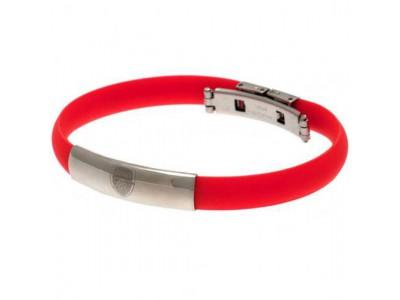 Arsenal FC Colour Silicone Bracelet