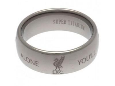 Liverpool FC Super Titanium Ring Small