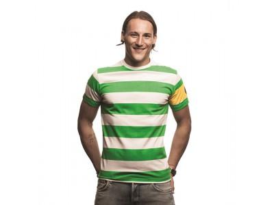 Celtic Captain T-Shirt Green - White