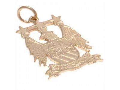 Manchester City FC 9ct Gold Pendant Eagle Crest