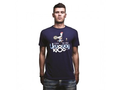 Uruguay 1980 T-Shirt - Marine Blue