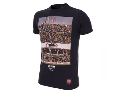 AS Roma Tifosi T-Shirt in Black