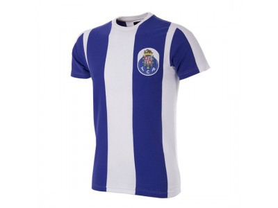 FC Porto Retro T-Shirt White - Blue
