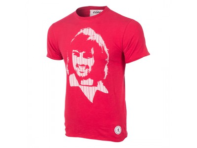 George Best Repeat Logo T-Shirt - Red