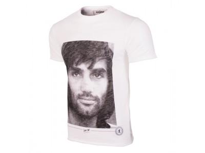 George Best Portrait T-Shirt - White