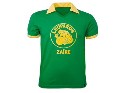 Zaire World Cup 1974 Short Sleeve Retro Shirt