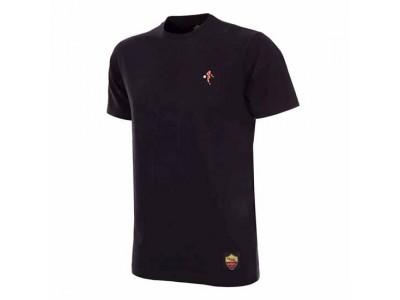 AS Roma Pixel T-Shirt - black