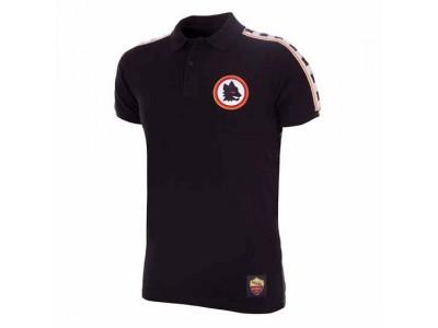 AS Roma Polo shirt - black