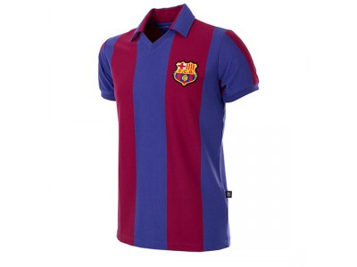 FC Barcelona 1980 - 81 Retro Football Shirt