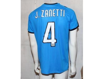 Puma Liga Core jersey - J. Zanetti 4 - sun stripes
