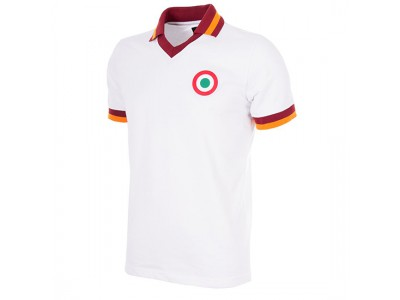 AS Roma Away 1980-81 Retro Football Shirt