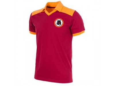 AS Roma 1980 Retro Football Shirt