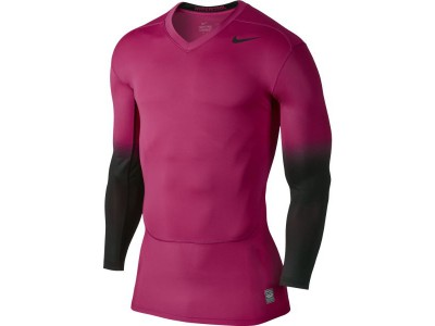Nike hypercool compression top – pink