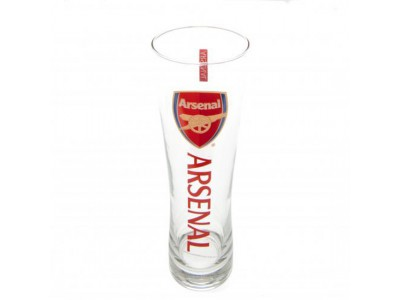 Arsenal FC Tall Beer Glass