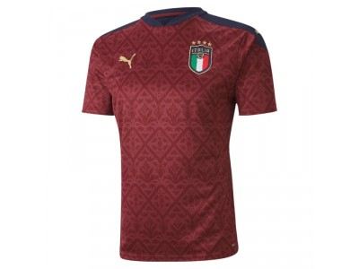 Italy goalie jersey 2020 - dark red