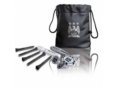 Manchester City FC Tote Bag Golf Gift Set