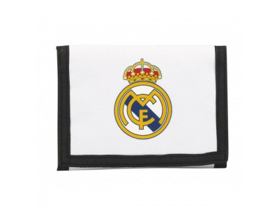 Real Madrid wallet white