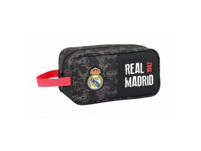 Real Madrid Wash Bag - Black RMCF