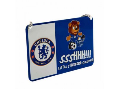 Chelsea FC Bedroom Sign Mascot