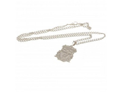 Liverpool FC Silver Plated Pendant & Chain