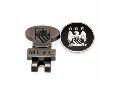 Manchester City FC Hat Clip & Marker