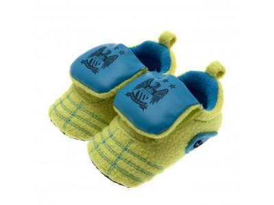 Manchester City FC Neon Boot Crib 9/12