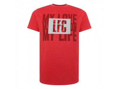 Liverpool Mens Red Marl Tee