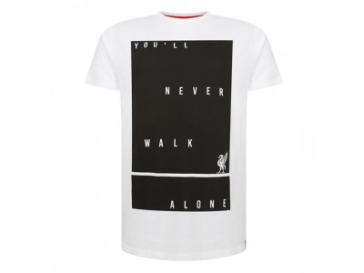 Liverpool Mens White You'Ll Never Tee