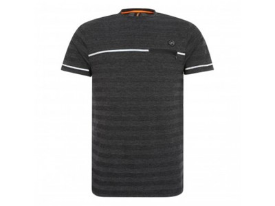 Liverpool Tonal Stripe Tee - Black