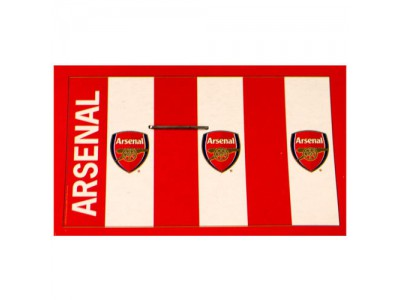 Arsenal flag - 3 logos