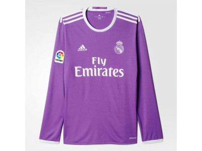 Real Madrid away jersey L/S 2016/17 - youth