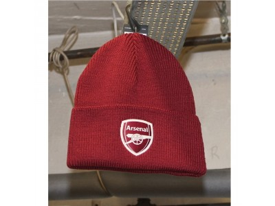 Arsenal woolie hat 2020/21 - red