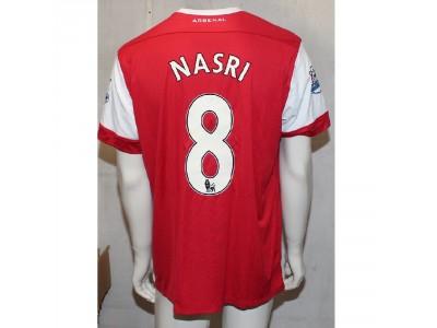 Arsenal home jersey 2010/11 - NASRI 8