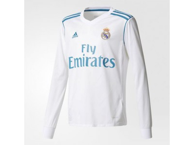 Real Madrid home jersey L/S 2017/18 - youth