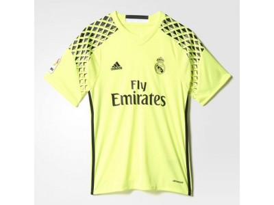 Real Madrid goalie jersey away 2016/17