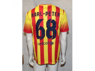FC Barcelona away jersey 2013/14 - Karl Peter 68