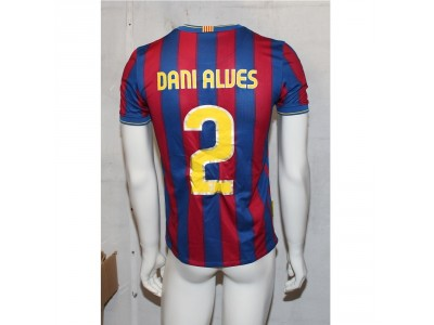 FC Barcelona home jersey 2009/10 - youth - Dani Alves 2