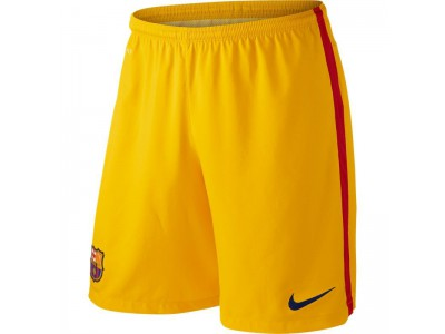 FC Barcelona goalie shorts 2015/16 – yellow