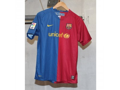 FC Barcelona home jersey 2008/09 - Messi 97 - XLB