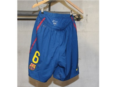 Barcelona home shorts 2011/12 - number 6